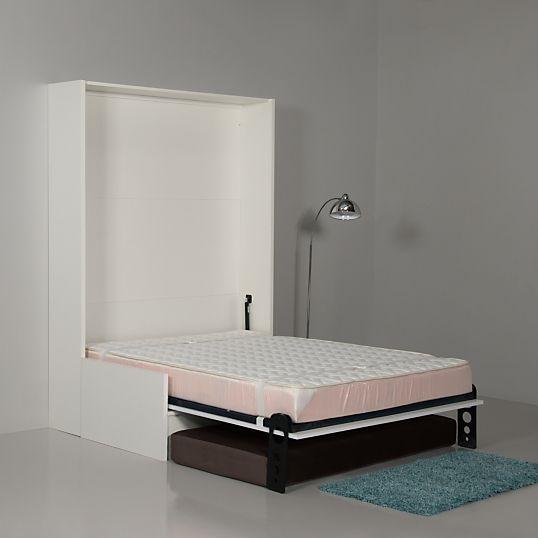 17 meilleures id es propos de lits escamotables sur for Lit escamotable avec banquette