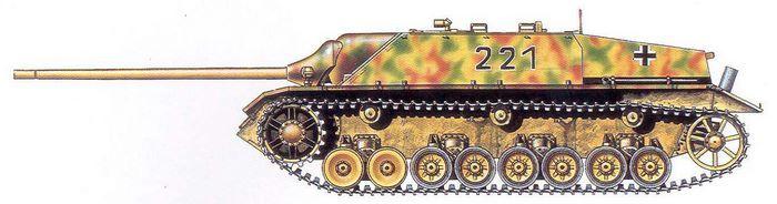 Jagdpanzer IV L-70(V) №-221 - Unknown Unit, Germany, Spring 1945