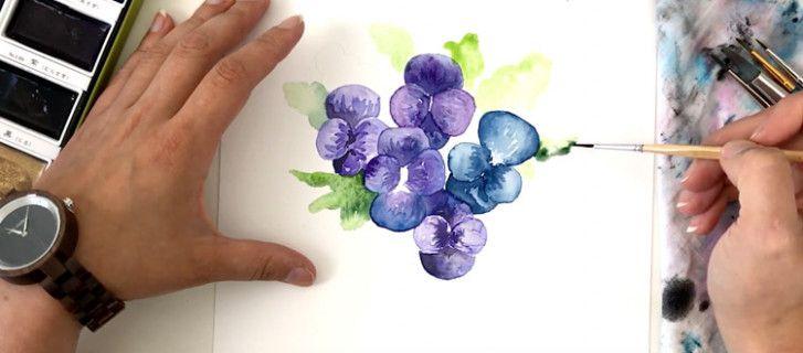 Ten Quick Tips Regarding Watercolor Painting Tutorials Free