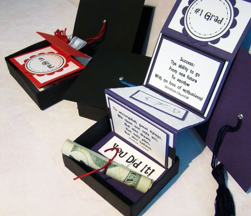 love this idea graduation gift box using sus matchbox die winside pages cut - Graduation Gift Ideas