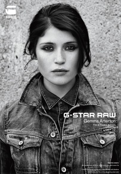 Gemma Arterton by Anton Corbijn (2011) for G Star S/S 11