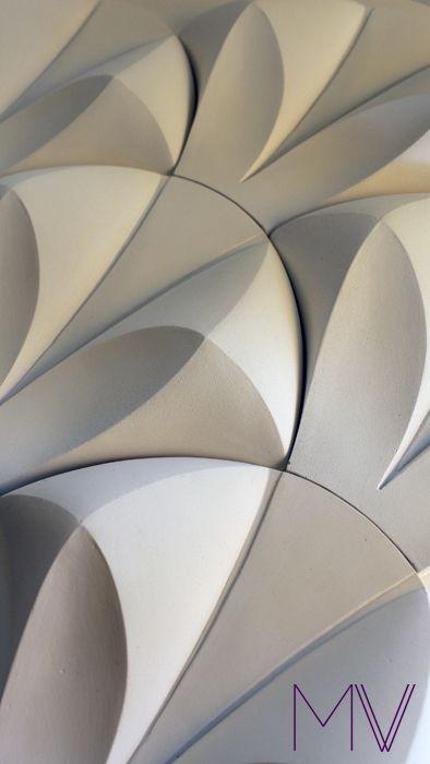 Janus: 3D wall tiles by matthew vigeland, via Behance