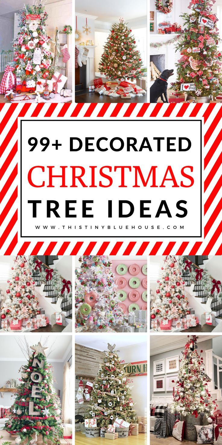 100 Best Gorgeous Festive Christmas Tree Decor Ideas Christmas Tree Decorations Christmas Diy Christmas Tree Themes