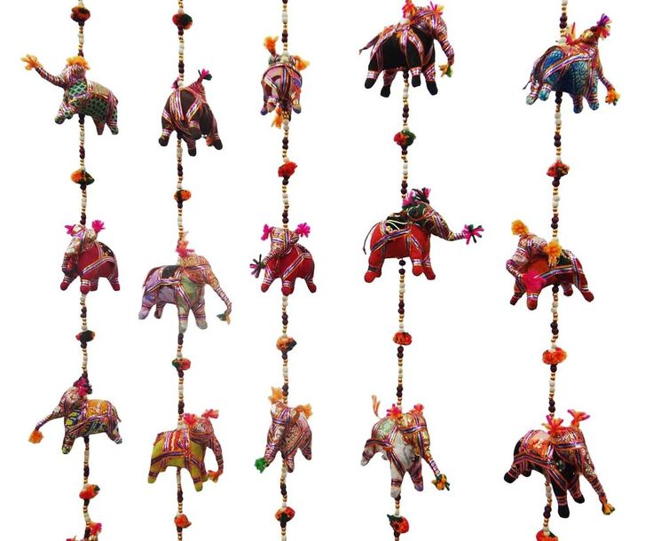 Elephant Wall Hanging traditional indian handmade elephant wall hanging craft toran home