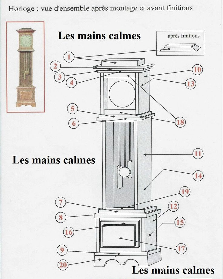 Diy grandfather clock plans woodworking projects plans - Grandfather clock blueprints ...
