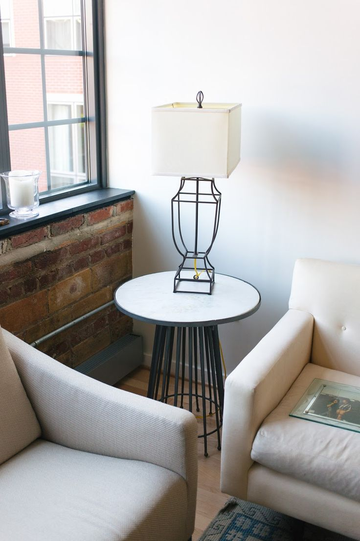 Tall table lamps for living room - Side Table Lamps Have 2