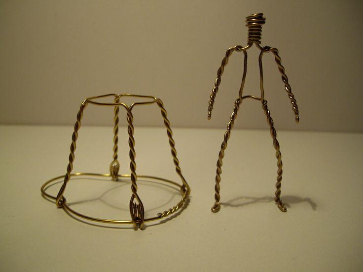 muselet transform en figurine metal pinterest cork crafts cork and crafty. Black Bedroom Furniture Sets. Home Design Ideas