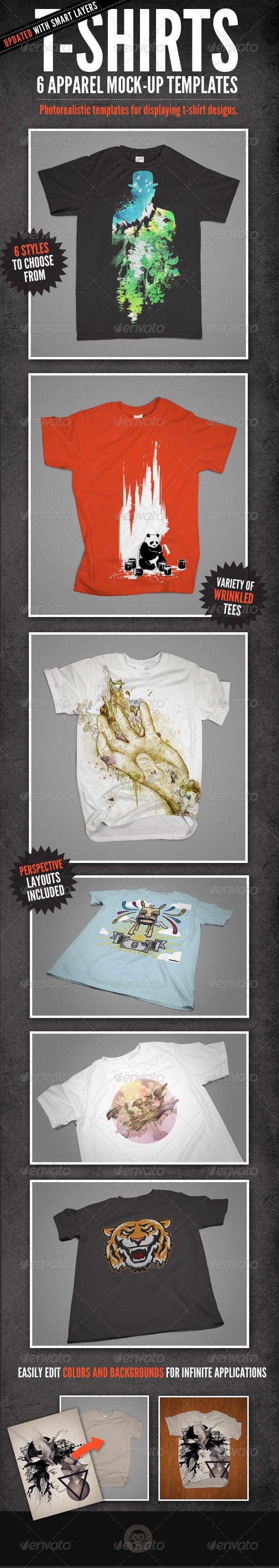 Design t shirt photoshop cs5 - T Shirt Mock Ups Apparel Design