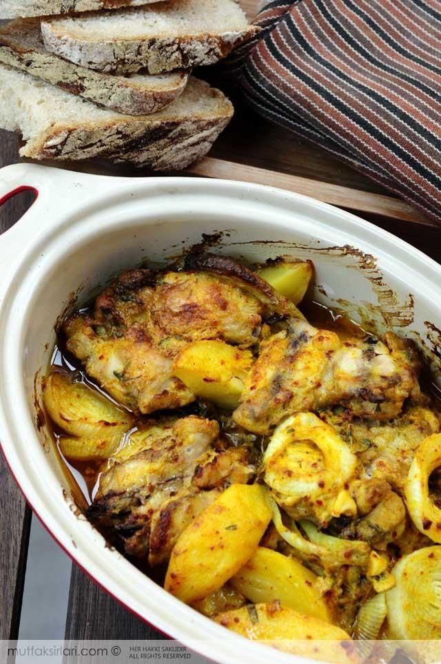 firinda_korili_tavuk_patates
