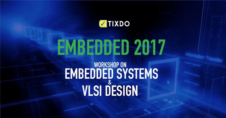Learn the latest #VLSITechnologies, #EmbeddedSystemDesign and much more at one day workshop by #TopEngineers.  Book your tix at tixdo.com  #Knowledge #Engineers #Technology