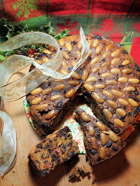Single Malt Whisky and a Traditional Tea Time Dundee Cake for New Year           I had to have this recipe after watching The Gathering Storm, about Winston Churchill