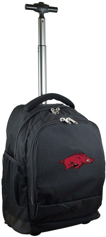 NCAA Arkansas Razorbacks Premium Wheeled Backpack