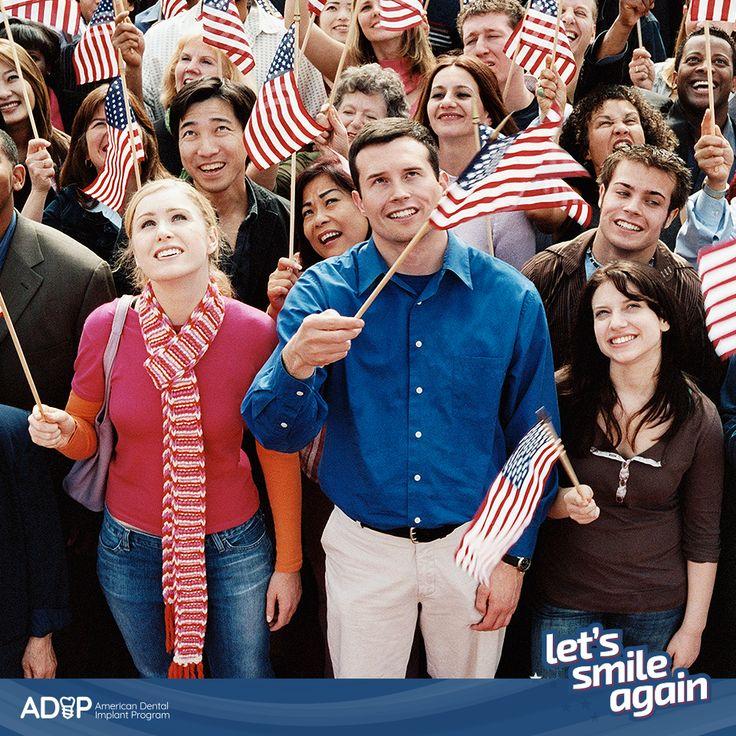ADIP aims to give Americans the smile they really deserve! #LetsSmileAgain  -- ¡ADIP quiere devolver a los americanos la sonrisa que realmente merecen! #LetsSmileAgain