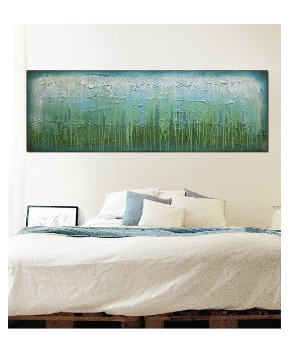 Acrylic Painting Canvas Wall art Mistic River D2 by RonaldHunter