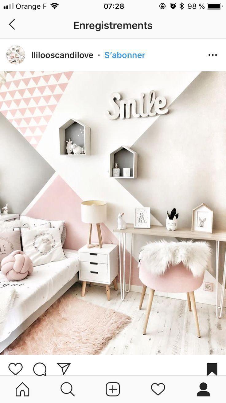Neuer eifriger Raum – #Schlafzimmer #Mädchen #Neue # Zelie –  – #kinderzimmer #kinderzimmer