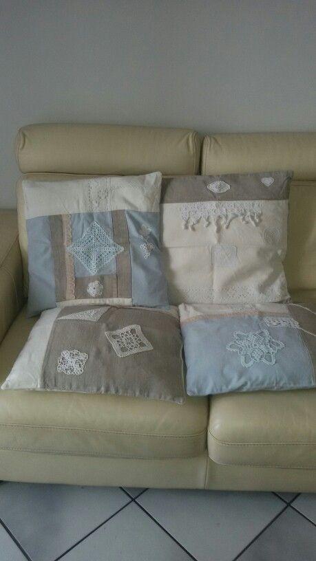 My shabby chic cushions