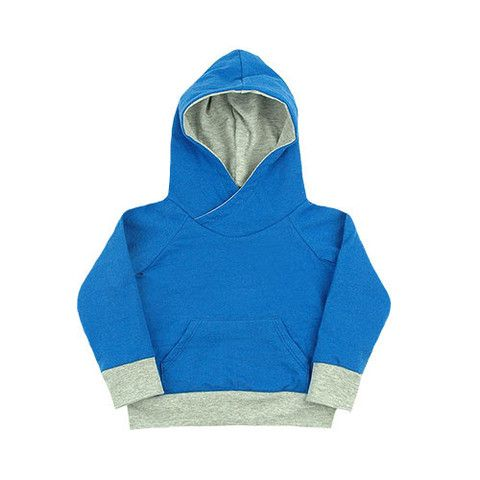 mini mioche x heart & habit cowl neck hoody - mini mioche - organic infant clothing and kids clothes - made in Canada