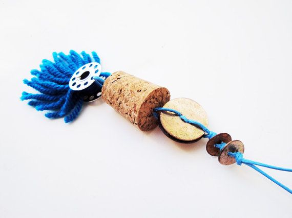 Check out this item in my Etsy shop https://www.etsy.com/listing/208679084/cork-pendant-long-necklace-wine-cork