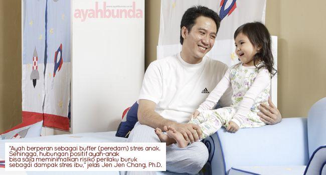 Ayah minimalkan perilaku anak :: Father and Kids Behavior