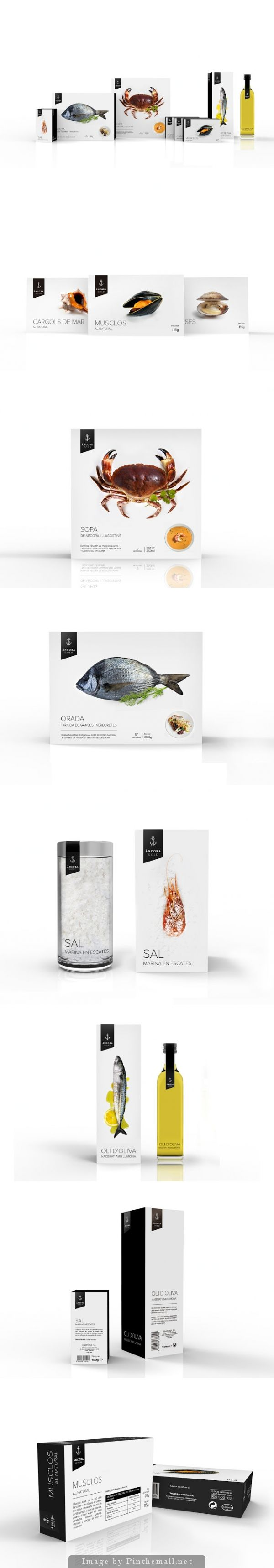 Très beau graphisme pour ce packaging - Àncora Gold (Student Project) PD
