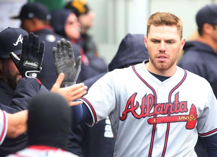 Seven most impressive young cornerstone players in MLB today  -  April 21, 2017:    Freddie Freeman, first baseman, Atlanta Braves