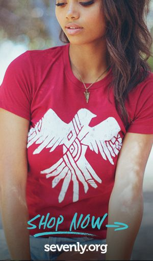"""Rape happens everywhere: in the military, in marriages, at parties, and among """"friends."""" Get a shirt and give survivors of rape HOPE & HEALING. Fashion for a cause ► http://www.sevenly.org/?cid=PINTERESTdale"""