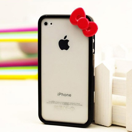 Hello Kitty Iphone bumper - comes in 10 different colours