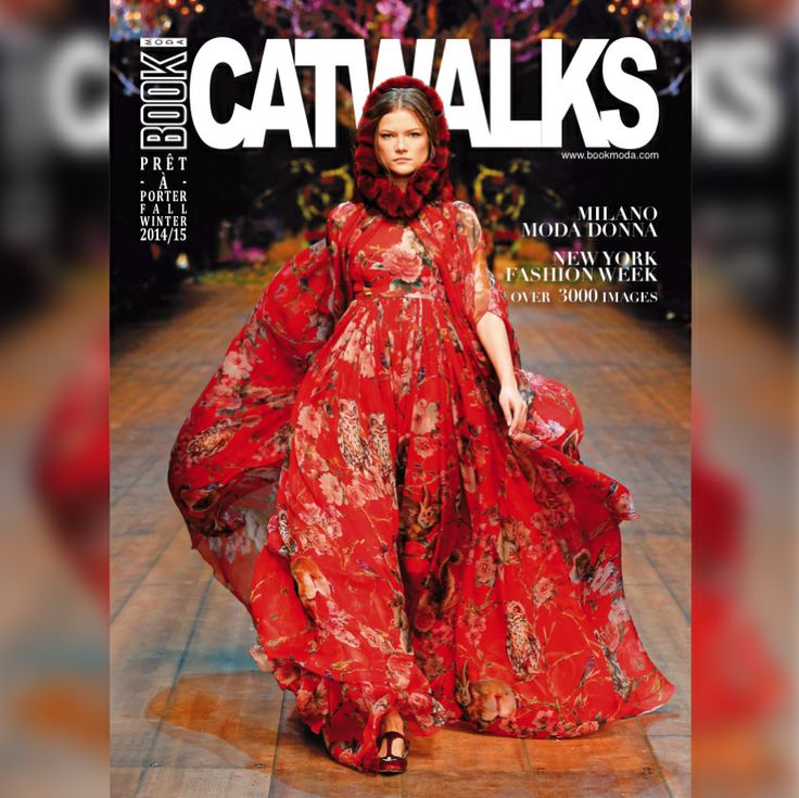 Our new issue's cover!!1 #cover #issue #catwalk #fashionshow #pretaporter #fall #winter #2014 #2015 #fw #milan #newyork #dolcegabbana @Dolce & Gabbana