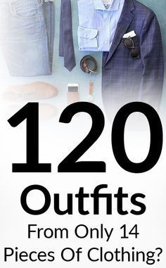Power Of The Interchangeable Wardrobe   120 Outfits From 14 Pieces Of Clothing