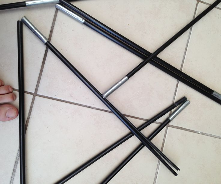 Replace And Repair Tent Poles