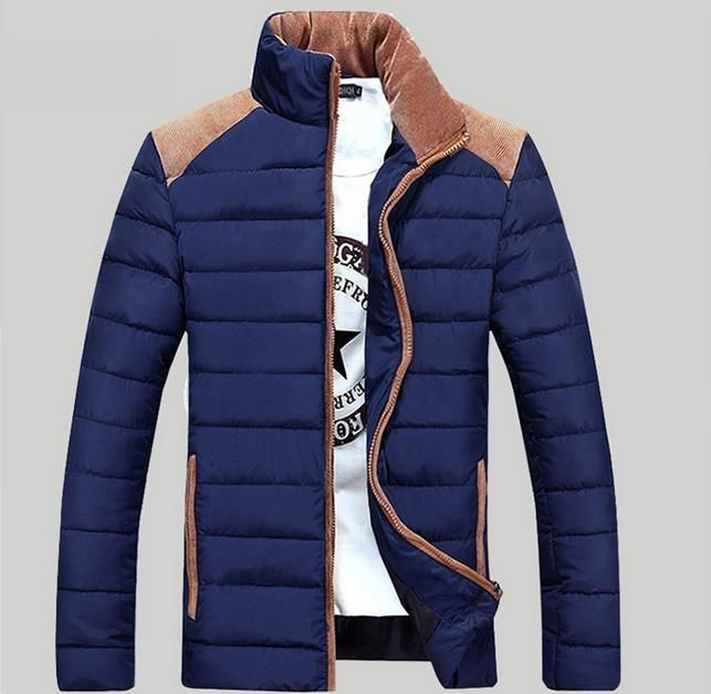 62.05$  Watch more here - http://ai0le.worlditems.win/all/product.php?id=32790324877 - Men Down Jacket Thick Warm Padded Coat 2017 Brand Parka Men Winter Jacket Fashion Quality Down Parka Solid Cotton Coat Male