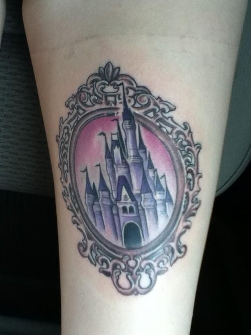 Cinderella tattoo done at Way Cool Tattoos in Oakville, Ontario Canada