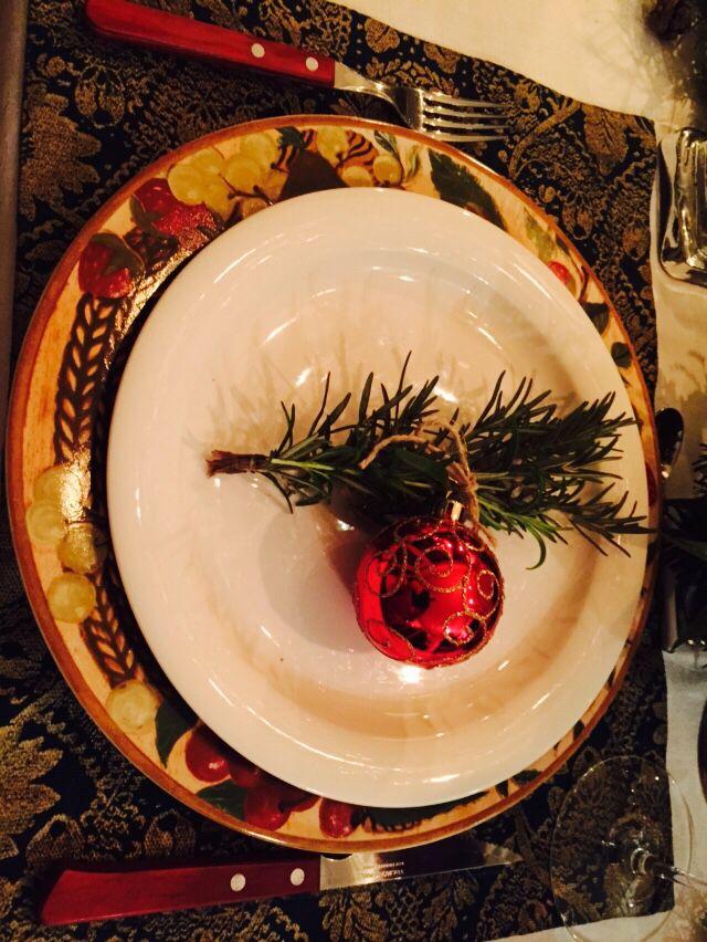 Ready for the Christmas dinner
