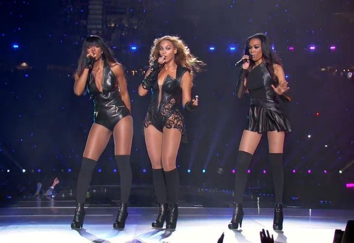 Destiny's Child reunites in the Mercedes-Benz Superdome!