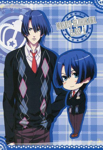 Uta no Prince sama Purinsu big postcard official Japan Hijirikawa Masato