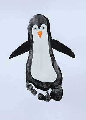 Penquin. Looks like I'm going to be painting the kids again!