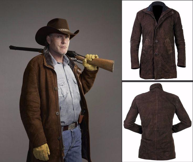 Sheriff Walt Longmire Suede Coat