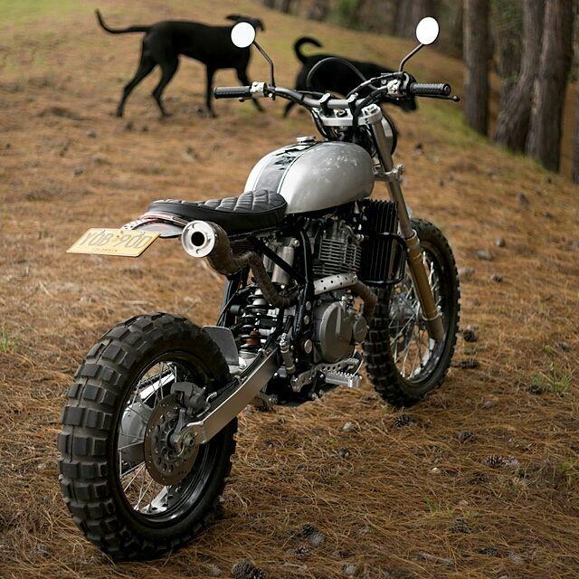 Badass+made+simple:+'Mamba'+Suzuki+DR650++by+Pasquale+Motors
