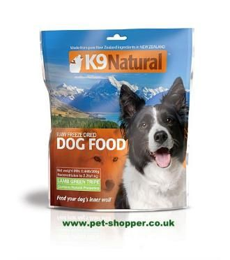 K9 Natural Freeze Dried Tripe.K9 Natural freeze dried tripe is a revolutionary, 100% raw, freeze dried dog food which combines the natural goodness of fresh raw foods,