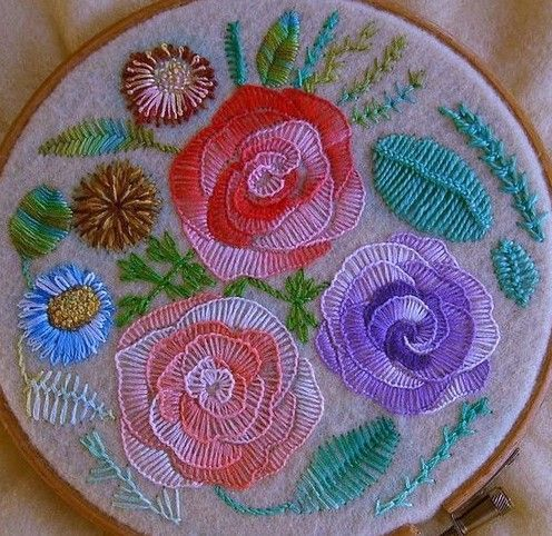 Resultado de imagen para embroidery stitches