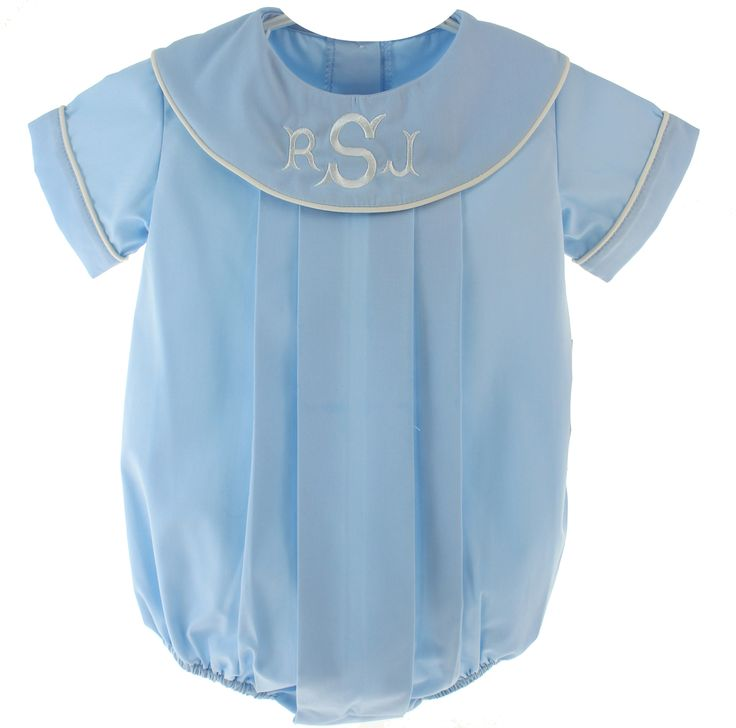 8 Best Boys Monogrammable Rompers Images On Pinterest