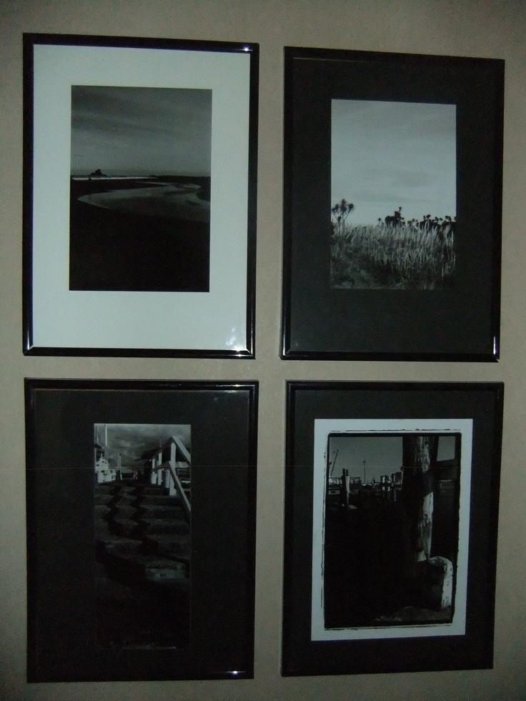 A4 prints, taken for black & white studies at Whitecliffe College.
