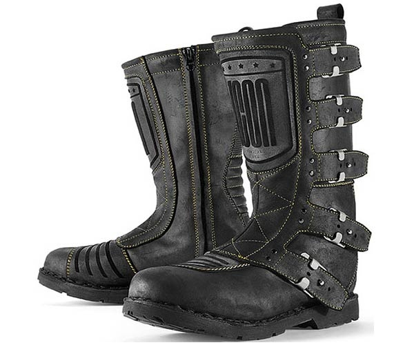 Icon 1000 Elsinore Motorcycle Boots