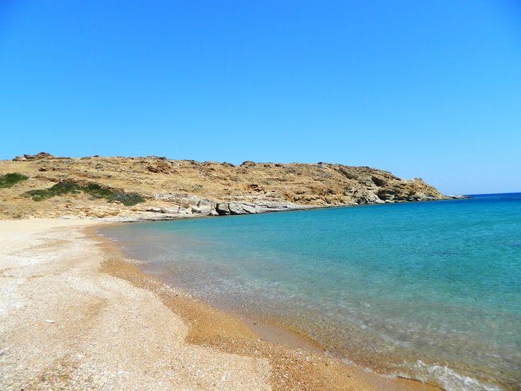 Plakies beach Ios, Greece