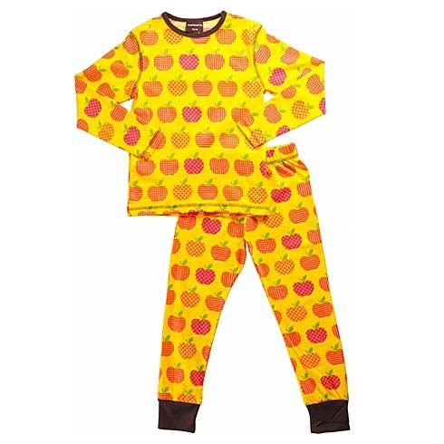 Organic Pyjama Set Apples by Maxomorra