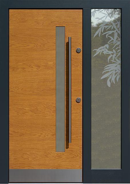 Drzwi Zewnetrzne Z Doswietlem Dostawka Boczna Z Szyba Model 427 12 W