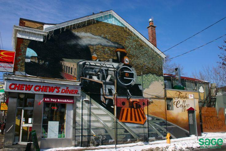 Street Art in Cabbagetown, Toronto