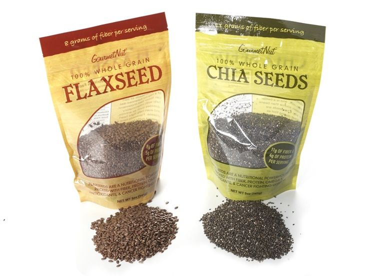 Chia and Flaxseed Pack (6) for $25.99