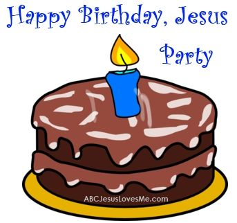 Hold a Happy Birthday Jesus party.  Ideas and supply list written out to help you plan a party that focuses on Jesus!