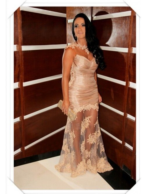 Sexy vestido longo Long Sleeveless Appliques O-Neck vestido de festa abendkleider Mermaid Gowns Evening Dresse 2014 vestidos